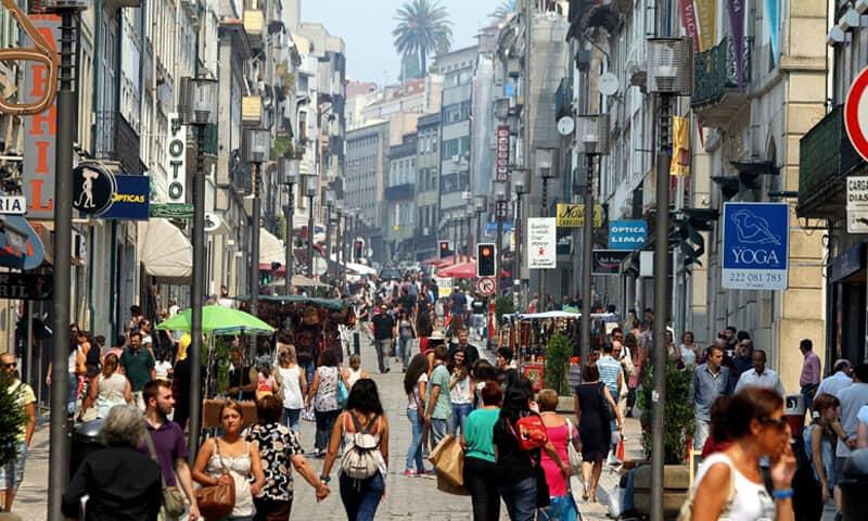 Rua-de-Santa-Catarina-Porto