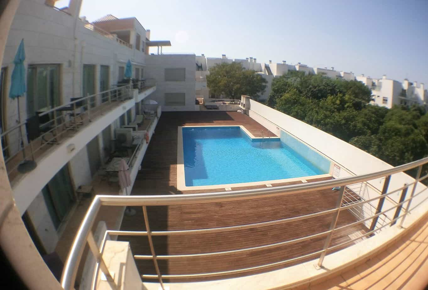 Good quality 2 bedroom apartment with pool quiet for Pool apartments