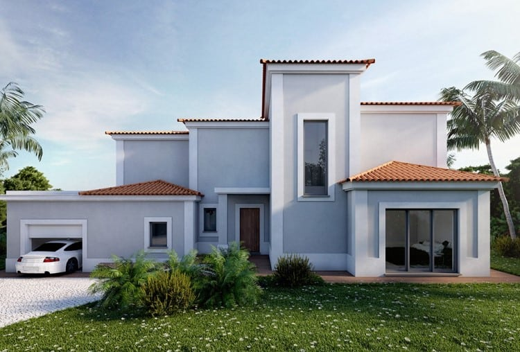 Villa V4 under construction on Golf Resort - Algarve (3)