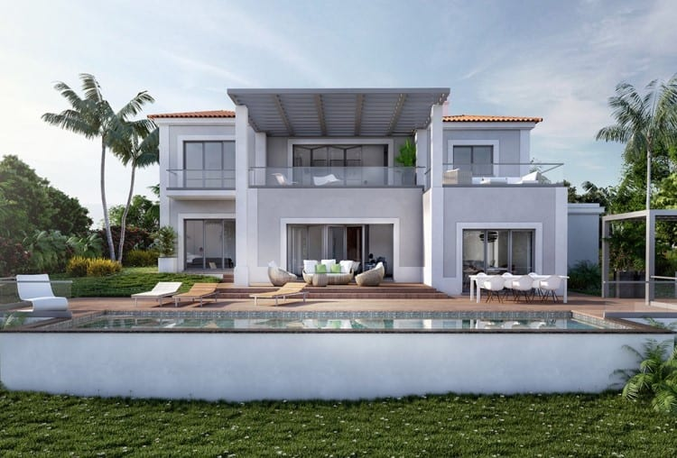 Villa V4 under construction on Golf Resort - Algarve (4)