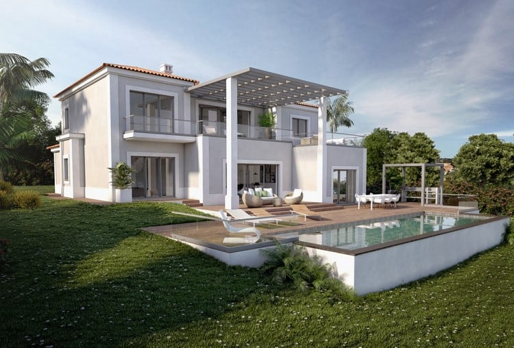 Villa V4 under construction on Golf Resort - Algarve (5)