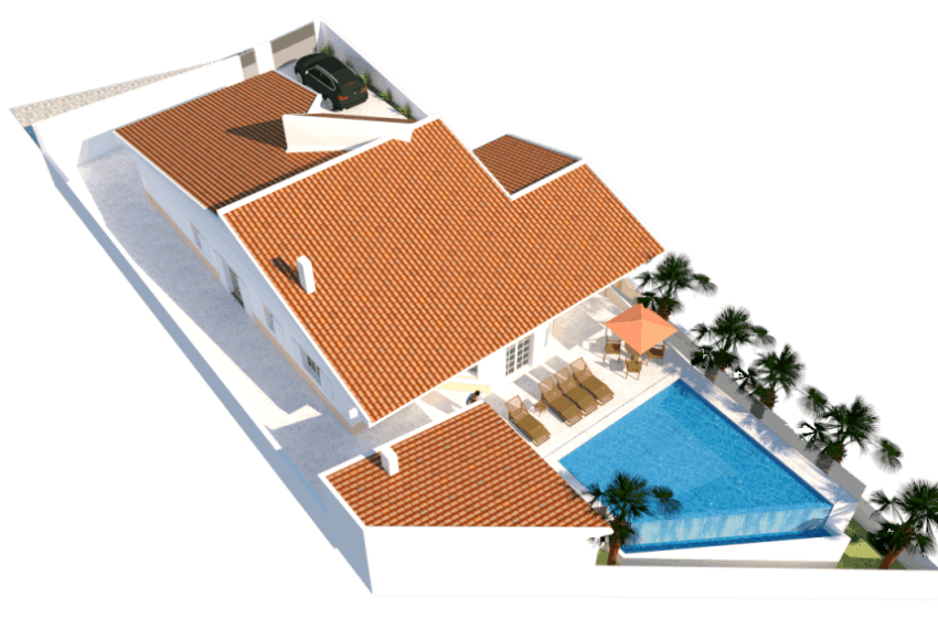 4 bedroom villa with pool beach Castro marim (3)