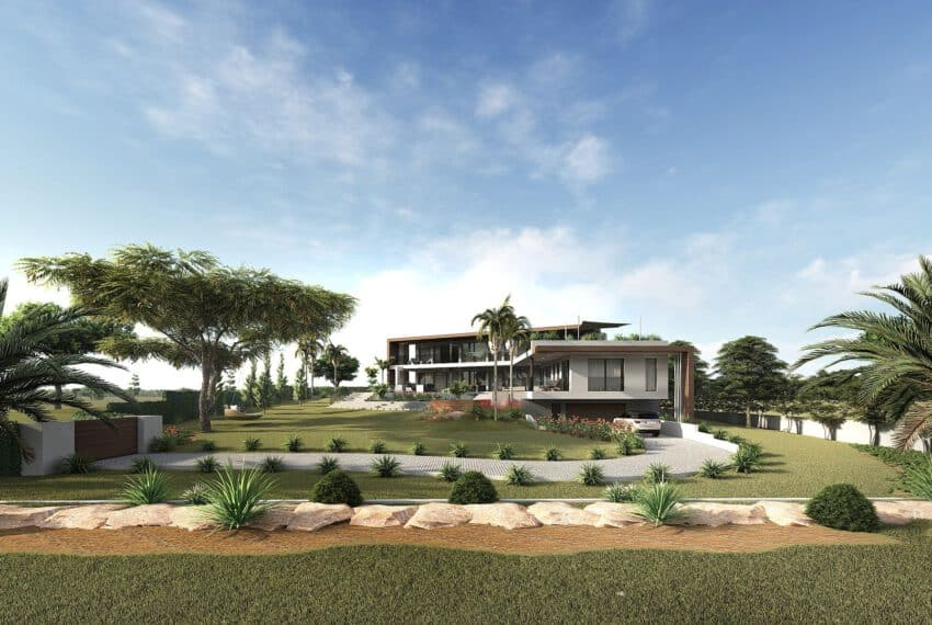 6 bedroom villa Monte Rei Golf beach Eastern Algarve luxury contemporary  (11)