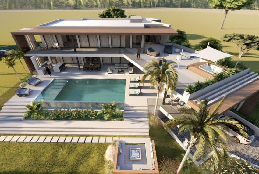 6 bedroom villa Monte Rei Golf beach Eastern Algarve luxury contemporary  (2)
