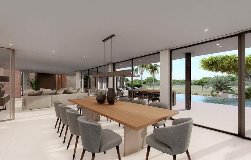 6 bedroom villa Monte Rei Golf beach Eastern Algarve luxury contemporary  (8)