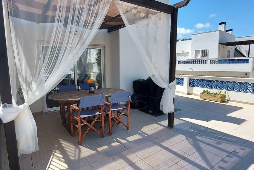 3 bedroom apartment topfloor Santa Luzia Tavira beach golf East Algarve Barril swimming pool (12)