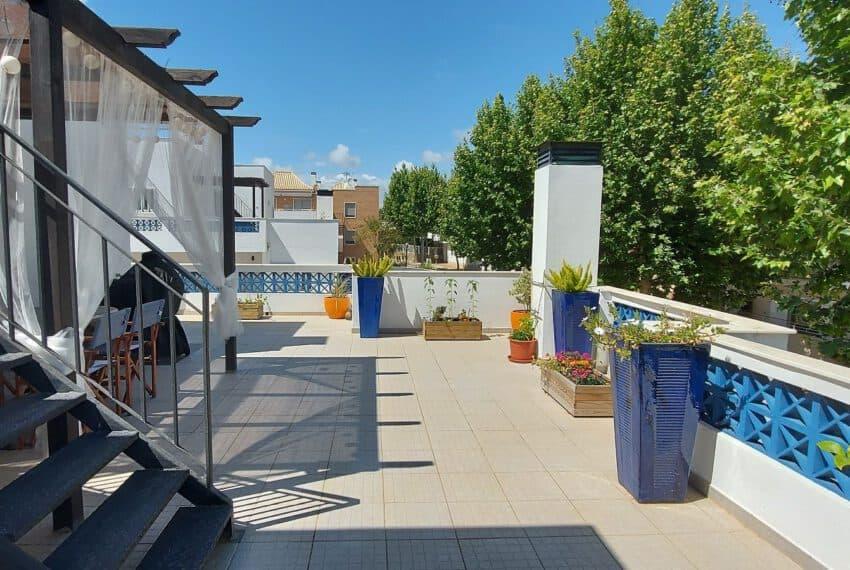 3 bedroom apartment topfloor Santa Luzia Tavira beach golf East Algarve Barril swimming pool (21)