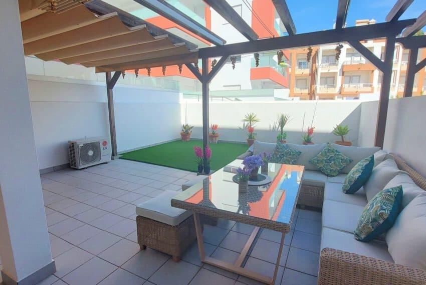 2 bedroom apartment with backyard Tavira center beach Gold East Algarve (2)