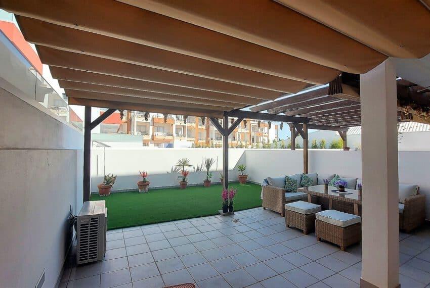 2 bedroom apartment with backyard Tavira center beach Gold East Algarve (3)