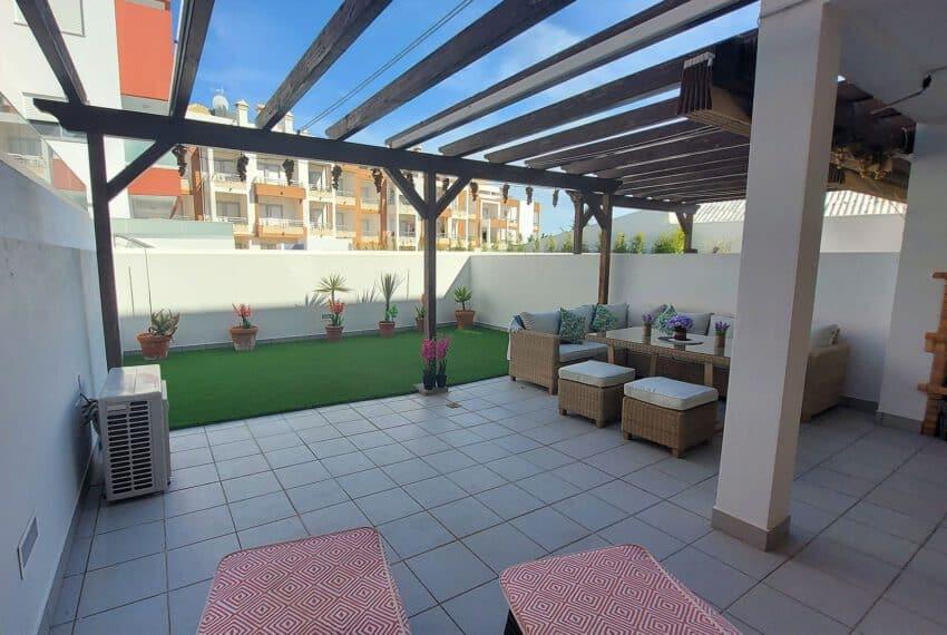 2 bedroom apartment with backyard Tavira center beach Gold East Algarve (4)