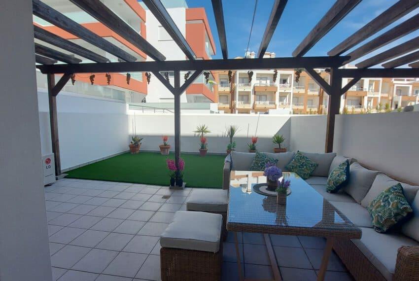 2 bedroom apartment with backyard Tavira center beach Gold East Algarve (8)