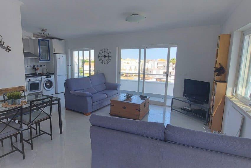 T2 top floor apartment Santa Luzia Tavira East Algarve beach golf pool (1)