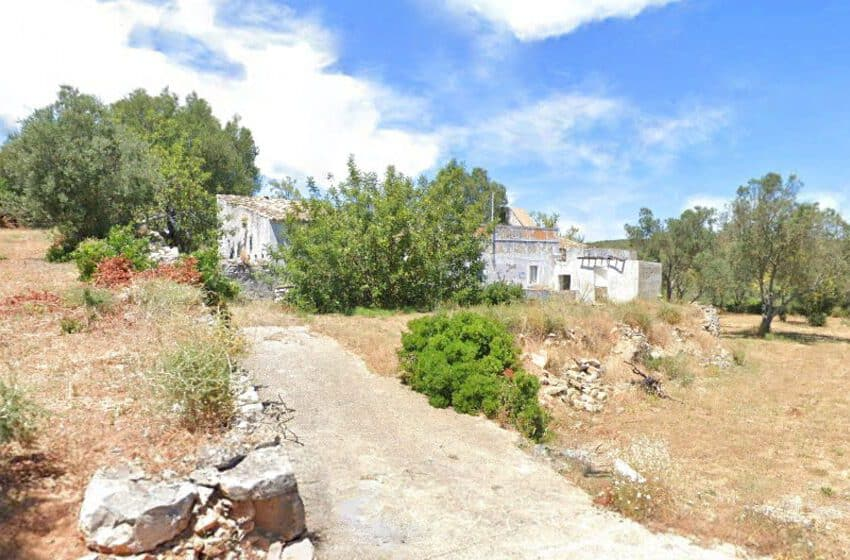 land with old house Loule Algarve beach golf (5)